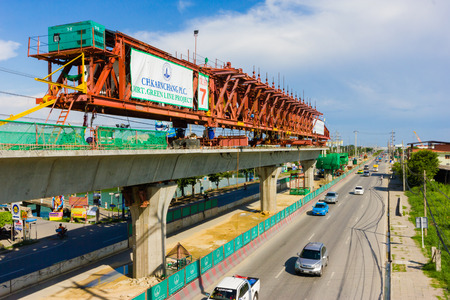 expected: Bangkok Thailand, 2014 August 24 : Bangkok Mass Rapid Transit-Green Line Extension, Thailand, The Bearing-Samutprakarn section of the MRT Green Line project is in advanced stage of development. Its construction is expected to start in 2014. The extended l
