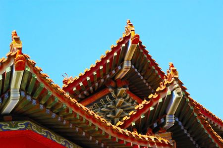 Chinese traditional construction(part) Stock Photo - 3321335