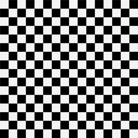 Abstract pattern of  black and white squares