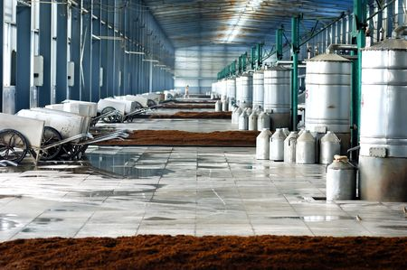 Distillate spirit factory in China Stock Photo - 3833352