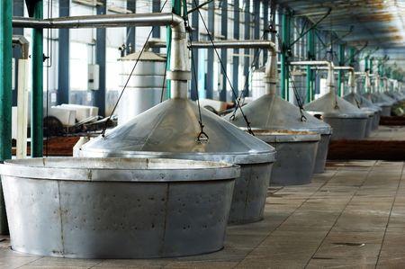 Distillate spirit factory in China Stock Photo - 3833284