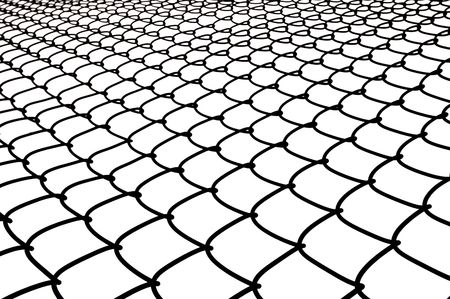 chainlink: Chainlink fence Stock Photo