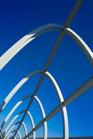 Modern bridge structure Stock Photo - 5663596