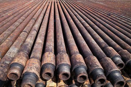 torres petroleras: Tuber�a de perforaci�n de petr�leo plataformas de perforaci�n