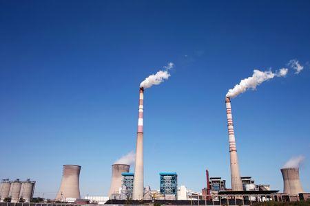 Coal burning power plant Stock Photo - 5791812