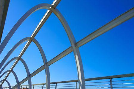Modern bridge structure Stock Photo - 5990740