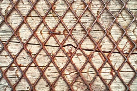 Wood and wire background photo