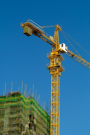 High rise construction site Stock Photo - 11089053