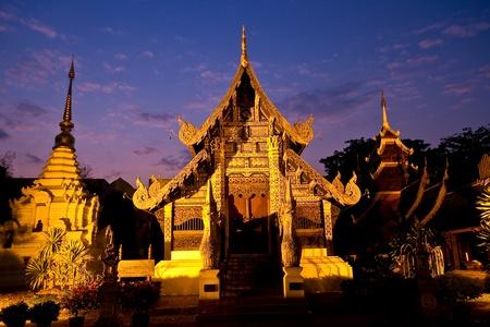 chaingmai: Temple in Chaingmai Thailand