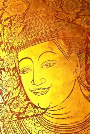 mural of wat prasingh chaingmai thailand Stock Photo - 13907756