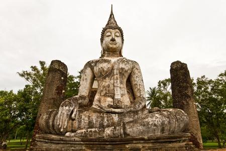 buddha in sukothai Thailand photo