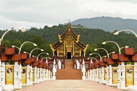 Hor Kam Luang Royalrajapruek Chaingmai Thailand photo
