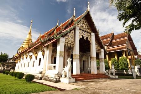 wat in nan province thailand