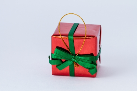 red gift box Stock Photo - 16432014
