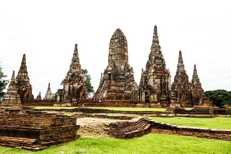 Wat Chai Wattanaram ayutthaya Thailand Stock Photo - 17307445