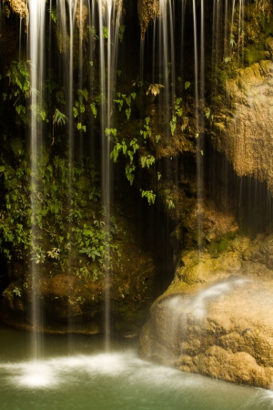 koh luang water fall lumphun Thailand photo