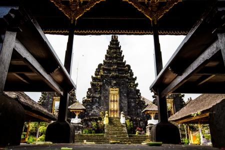 Besakih temple bali indonesia photo