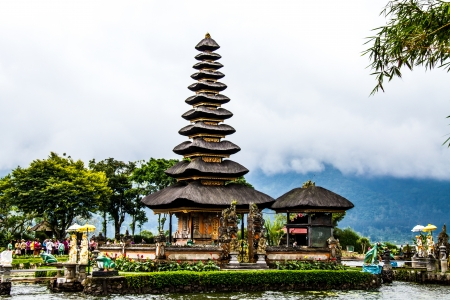 Bedugal temple bali indonesia photo