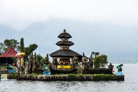 Bedugal temple bali indonesia photo
