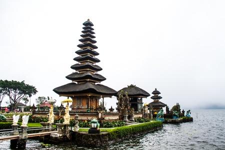 Bedugal temple bali indonesia Stock Photo