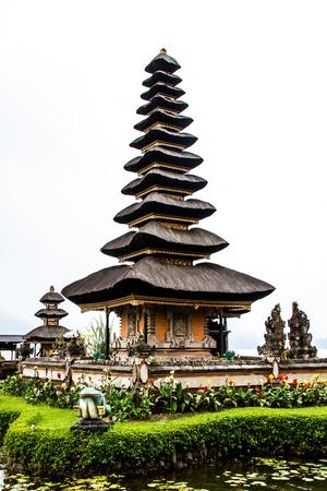 ulun: Bedugal temple bali indonesia Stock Photo