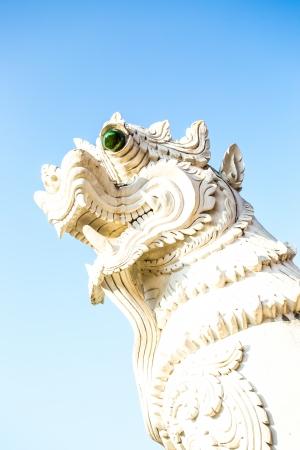 chiangmai: singh statue  wat ban-den , chiangmai province Thailand