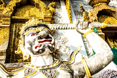 giant statue wat ban-den , chiangmai province Thailand photo