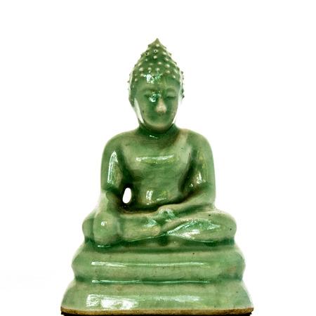 closeup buddha statue in chiagmai Thailand