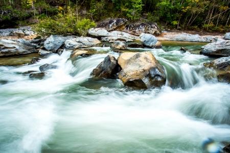 headstream in op-khan national park  chaingmai Thailand
