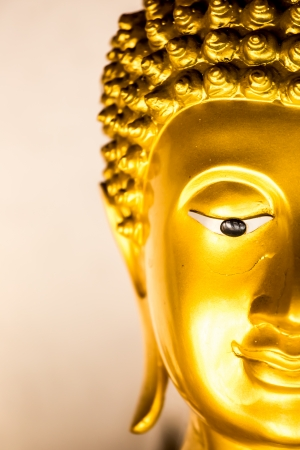 buddha statue wat phra that doi kham, chiangmai Thailand photo