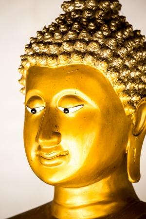 buddha statue wat phra that doi kham, chiangmai Thailand