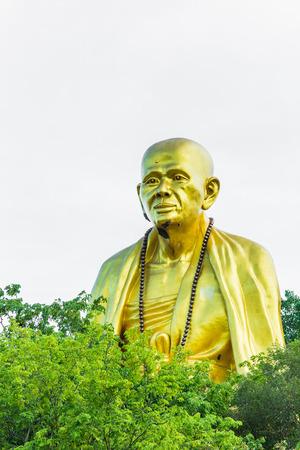 Buddha statue Wat doi ti , Lumphun Thailand photo