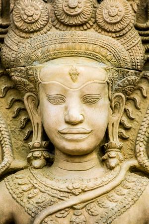 apsara: apsara  statue