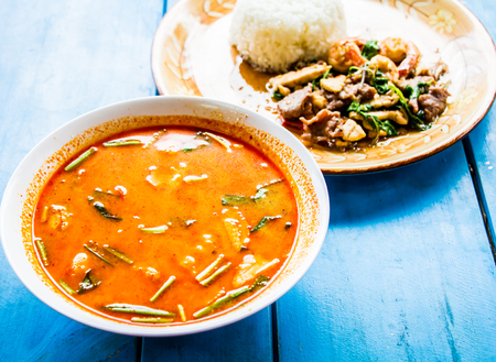 spicy: spicy lemongrass soup