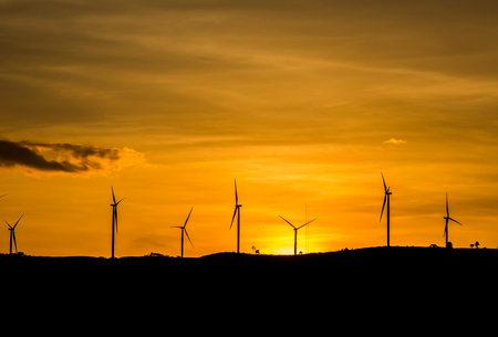 water turbine: wind whell in Khao kho Thailand