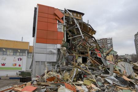 demolish: Damaged Building