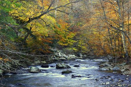 late fall: Raritan River in late fall