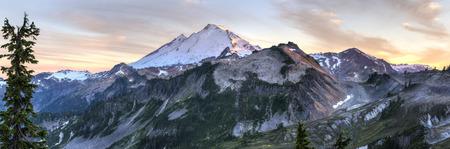 mt baker: Mt. Baker seen from Artist Ridge in the Northern Cascades mountains of Washington.
