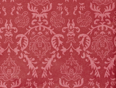 red vintage background with damask-like ornamental pattern Stock Photo - 9697135