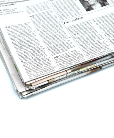 articles: Close up of a newspaper