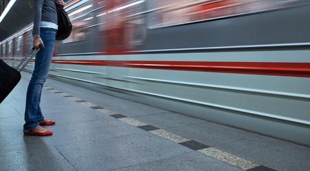 railway transports: Subway