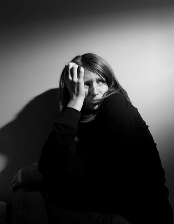 Young woman suffering from severe depression Stock Photo - 9792141