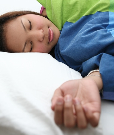 Young woman sleeping Stock Photo - 9939871