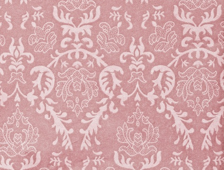 light pink vintage background with damask-like ornamental pattern Stock Photo - 10467369