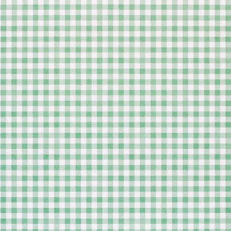 Green checkered rural tablecloth background photo