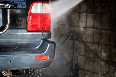 car in a carwash photo
