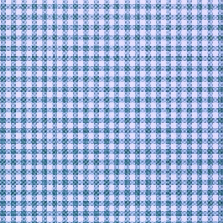 light blue lingerie: blue checkered rural tablecloth background Stock Photo