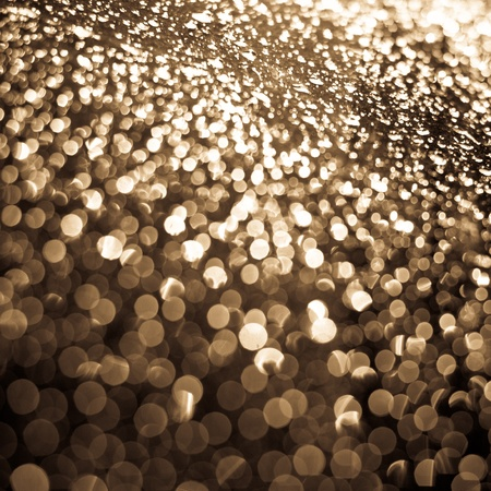 dispersion: Abstract background (raindrops on a window dispersing and reflecting light)