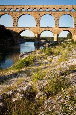 Pont du Gard, Languedoc-Roussillon, France photo