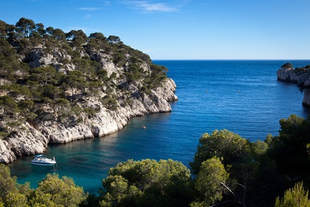 azure coast: Splendid southern France coast (Calanques de Cassis), southern France